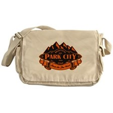 Park City Mountain Emblem Messenger Bag