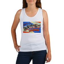 Nassau Bahamas Greetings Women's Tank Top