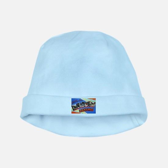 Nassau Bahamas Greetings baby hat