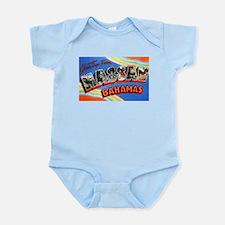 Nassau Bahamas Greetings Infant Bodysuit