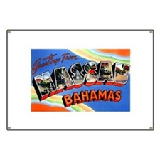 Nassau Bahamas Greetings Banner