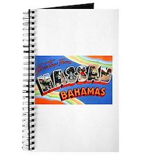 Nassau Bahamas Greetings Journal