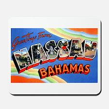 Nassau Bahamas Greetings Mousepad