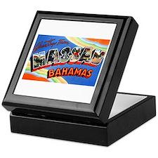 Nassau Bahamas Greetings Keepsake Box