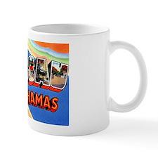 Nassau Bahamas Greetings Small Mug