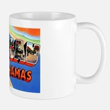 Nassau Bahamas Greetings Small Small Mug