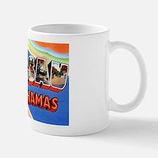 Nassau Bahamas Greetings Small Small Mug
