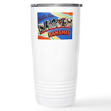 Nassau Bahamas Greetings Travel Mug
