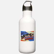 Nassau Bahamas Greetings Water Bottle