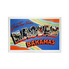 Nassau Bahamas Greetings Rectangle Magnet (100 pac