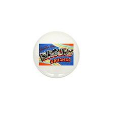 Nassau Bahamas Greetings Mini Button (10 pack)