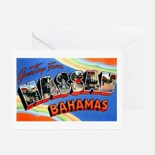 Nassau Bahamas Greetings Greeting Card