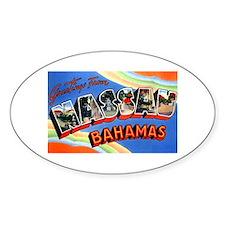 Nassau Bahamas Greetings Decal