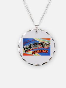 Nassau Bahamas Greetings Necklace