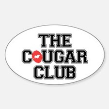 The Cougar Club Decal