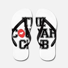 The Cougar Club Flip Flops