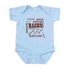 Bacon Bacon Bacon Infant Bodysuit