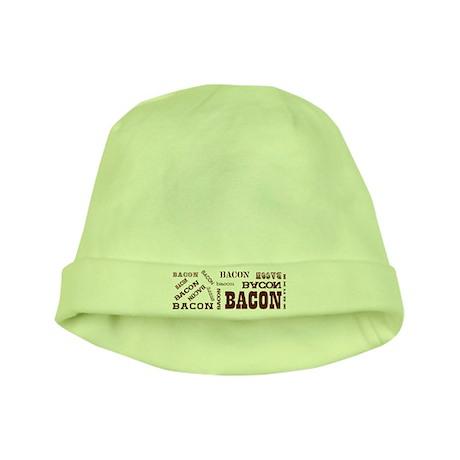 Bacon Bacon Bacon baby hat