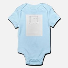 Women in a Binder Infant Bodysuit