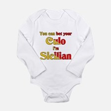 Cool Full blooded italian Long Sleeve Infant Bodysuit