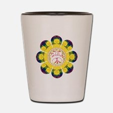 Peace Flower - Omm Shot Glass
