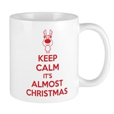 Keep calm it's almost christmas Mug