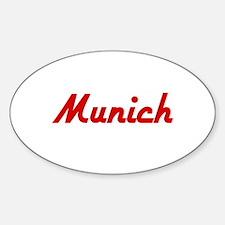 Munich - Oval Decal