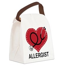 Allergist Gift Canvas Lunch Bag