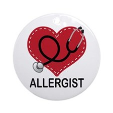 Allergist Gift Ornament (Round)