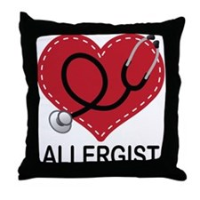 Allergist Gift Throw Pillow
