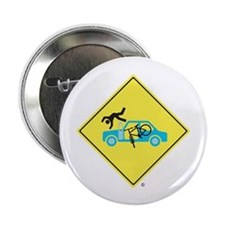 "Cute Yield 2.25"" Button (10 pack)"