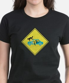 Funny Car accident Tee