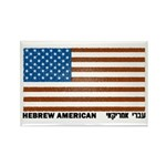 Jewish Flag Rectangle Magnet (100 pack)