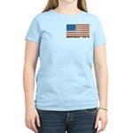 Jewish Flag Women's Pink T-Shirt
