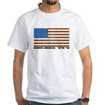 Jewish Flag White T-Shirt