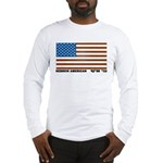 Jewish Flag Long Sleeve T-Shirt