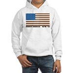 Jewish Flag Hooded Sweatshirt