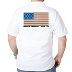 Jewish Flag Golf Shirt