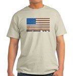 Jewish Flag Ash Grey T-Shirt