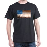 Jewish Flag Black T-Shirt