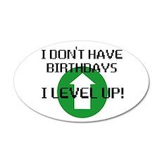I dont have birthdays Wall Sticker