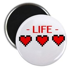 Life Hearts Magnet