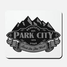 Park City Mountain Emblem Mousepad