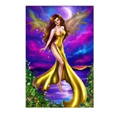 """""""Golden Fairy"""" Postcards (Package of 8)"""
