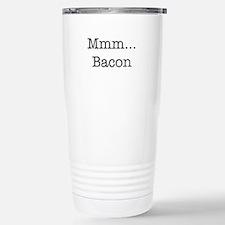 Mmm ... Bacon Stainless Steel Travel Mug