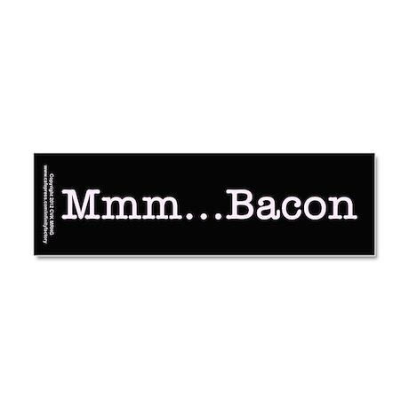 Mmm ... Bacon Car Magnet 10 x 3