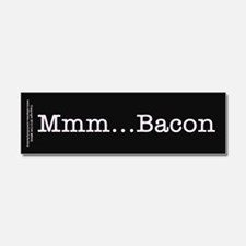 Mmm ... Bacon Car Magnet 10 x 3