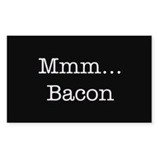 Mmm ... Bacon Decal