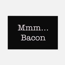 Mmm ... Bacon Rectangle Magnet (100 pack)