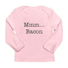 Mmm ... Bacon Long Sleeve Infant T-Shirt